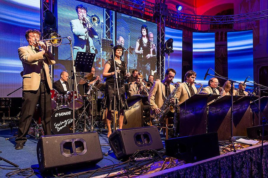 Swing Band Tábor v Českém Krumlově
