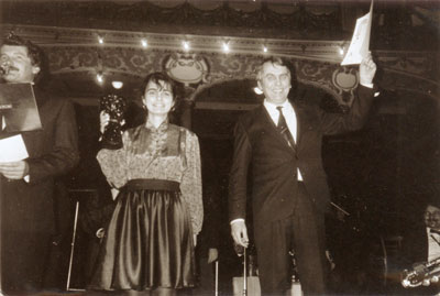 Vítězství v soutěži netradičních orchestrů – Prášková, Prášek – 5. 1. 1989